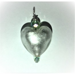 Dichroic Glass Hearts