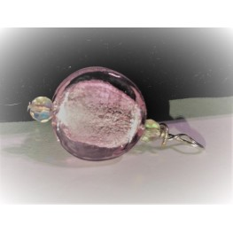 Dichroic Glass Small Round