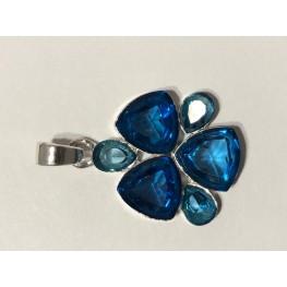 Topaz Blue Pendant