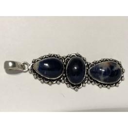 Lapis Blue Drop Pendant